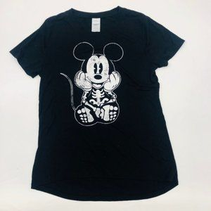 💎 3 FOR $25 Disney Mickey Mouse Skull T-Shirt M